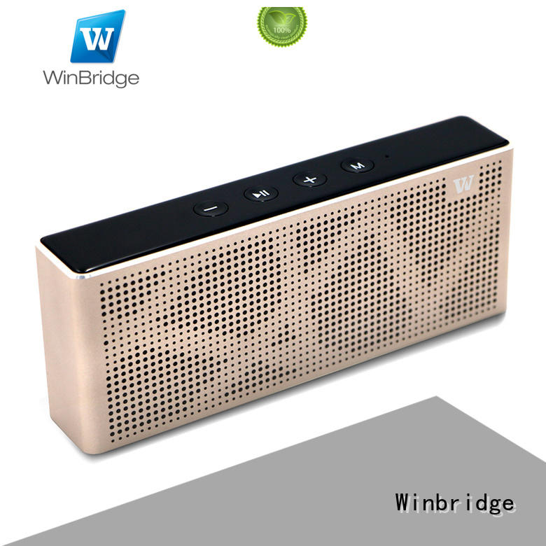 good bluetooth speakers with touch panel for riding Winbridge