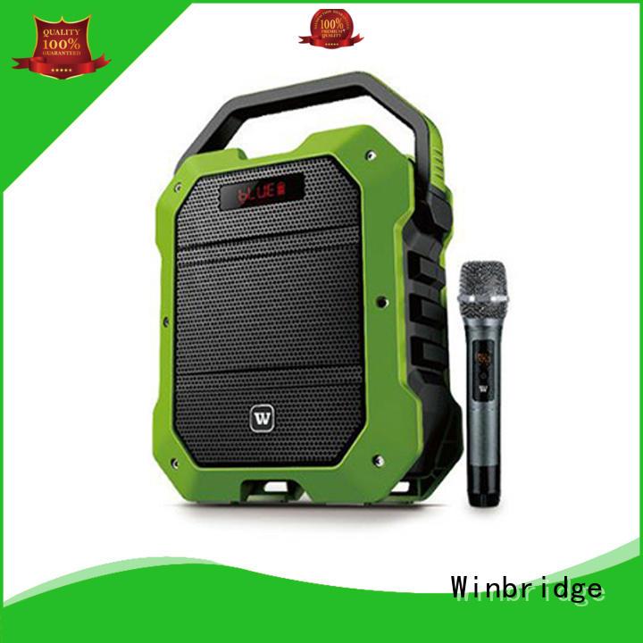comfortable bluetooth wireless karaoke speaker Winbridge