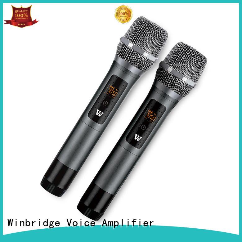 Quality Winbridge Brand mic wireless system