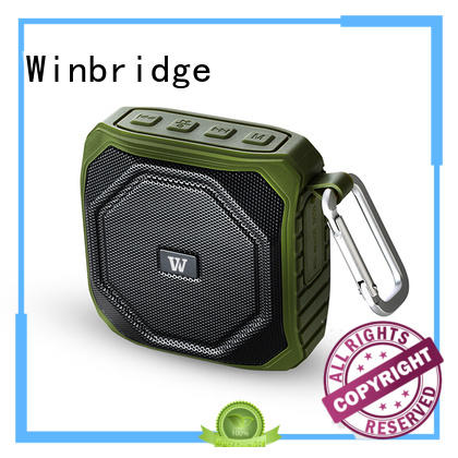 portable touch exquisite Winbridge Brand cheap bluetooth speakers manufacture