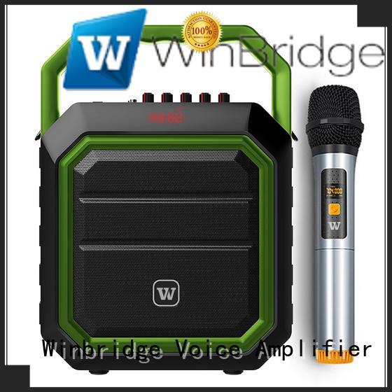 karaoke portable bluetooth karaoke speaker maker for dance Winbridge