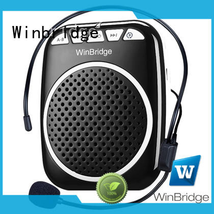 Winbridge disk tour guide voice amplifier wholesale