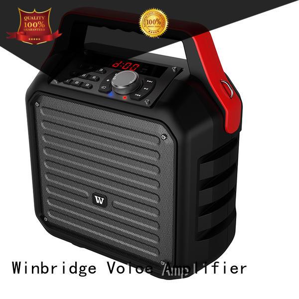 remote control portable outdoor speaker karaoke Winbridge Brand