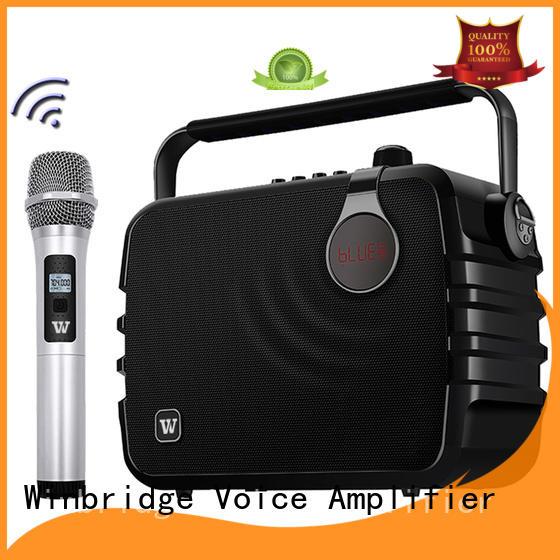 Winbridge top bluetooth pa speakers supply for sale