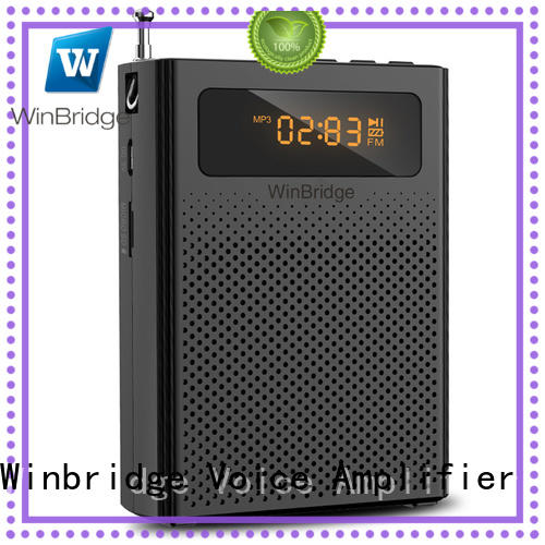 custom rechargeable voice amplifier with waistband wholesale