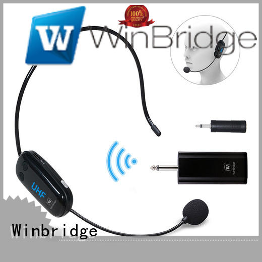 Winbridge Brand recording easy to use wireless microphone manufacture