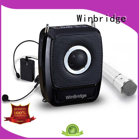 Winbridge bluetooth best voice amplifier for teachers with headset wholesale