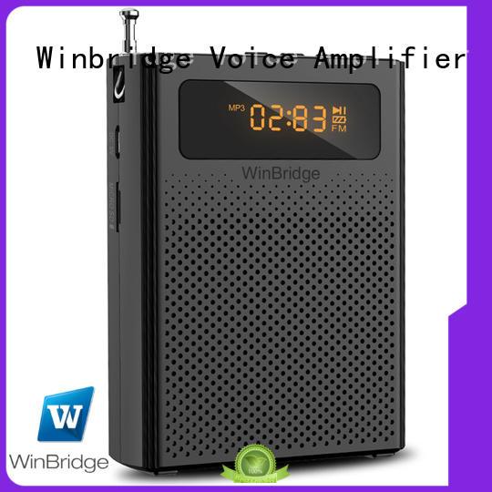 Winbridge loudspeaker best voice amplifier company for teacher