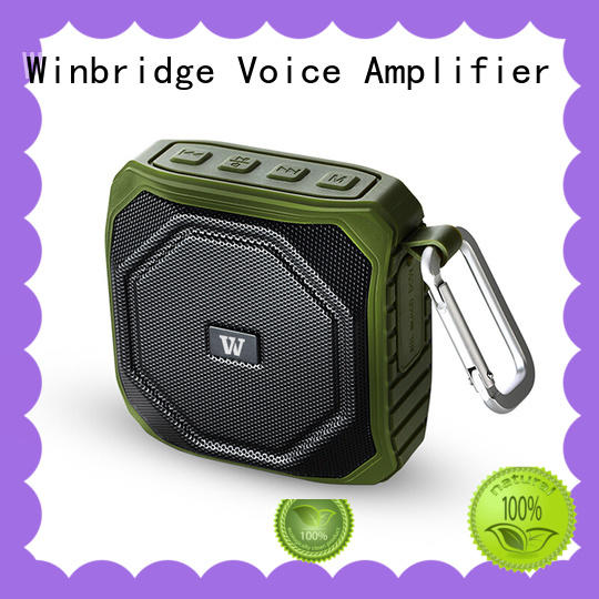 Winbridge waterproof best sounding bluetooth speaker for busniess for cafe
