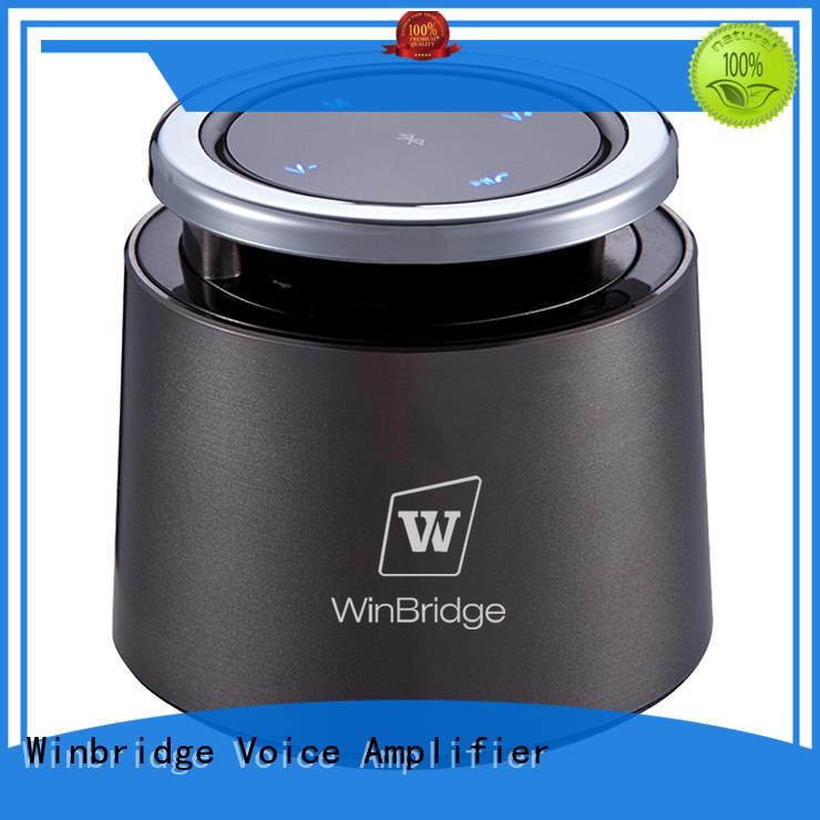 Winbridge hifi creative bluetooth speakers for outdoor hiking