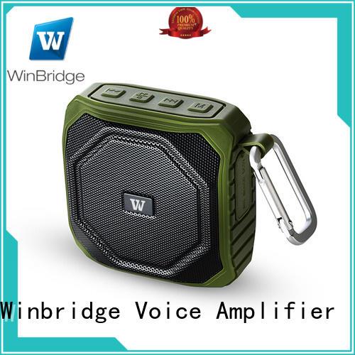 high end best sounding bluetooth speaker hot sale for riding Winbridge