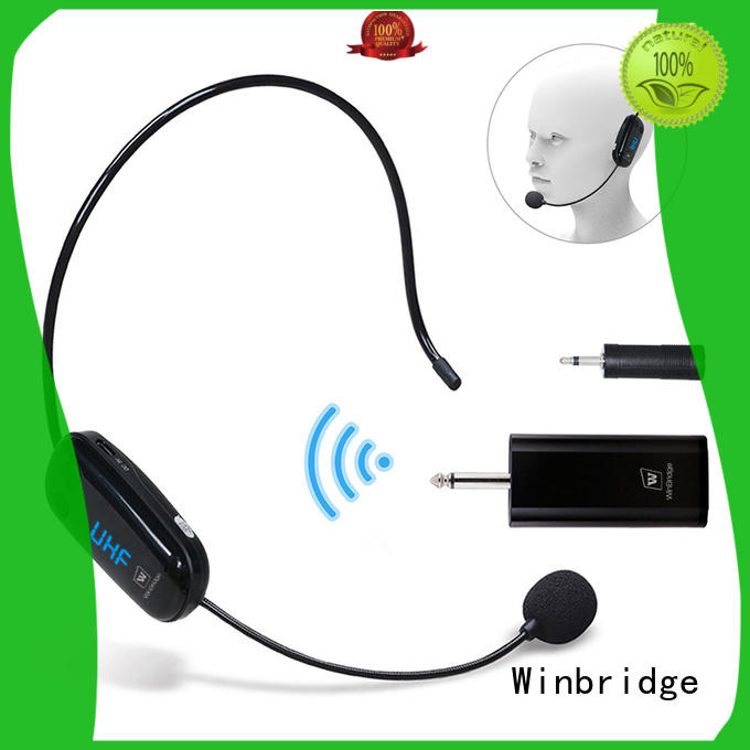 Hot humanized appearance mic wireless recording Winbridge Brand