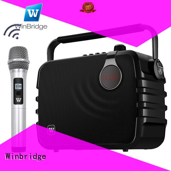 Wholesale microphone speaker karaoke Winbridge Brand
