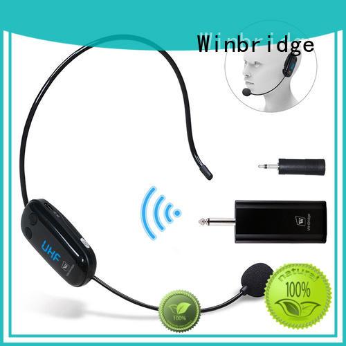 wireless headset microphone system for karaoke Winbridge