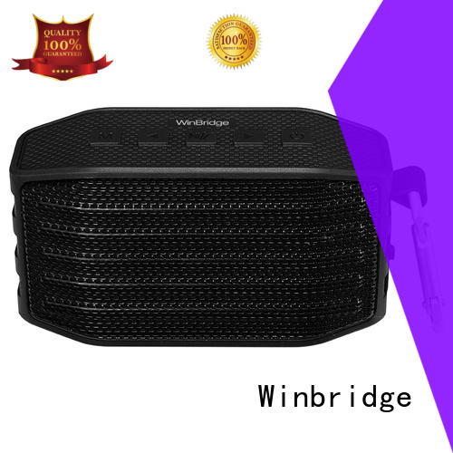 Winbridge sports small bluetooth speakers manufacturer for riding