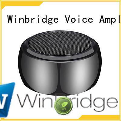 exquisite touch cheap bluetooth speakers Winbridge manufacture