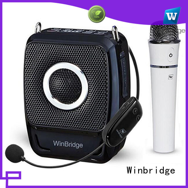 Winbridge amplifier handheld voice amplifier for sale
