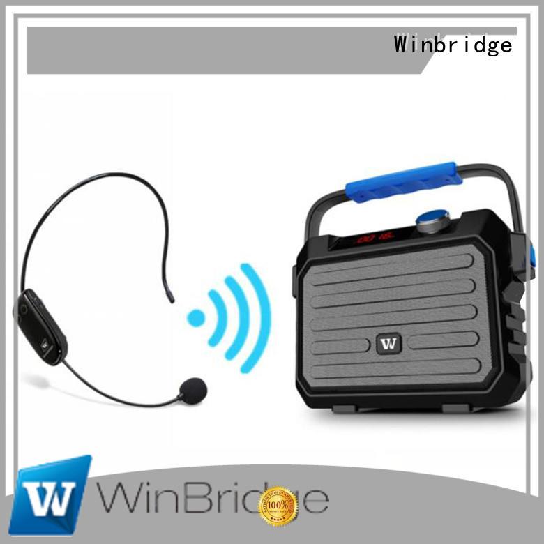 amplifier karaoke powered speakers supplier for party Winbridge
