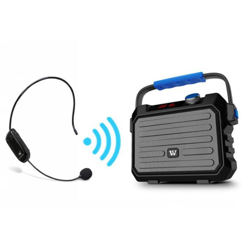 Winbridge KH5 30W Multifunctional Karaoke Loudspeaker With FM Wireless microphone