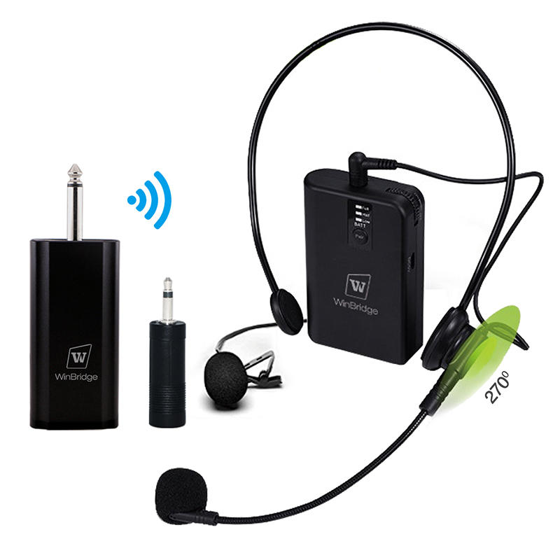 Winbridge Brand lapel mic wireless wired supplier