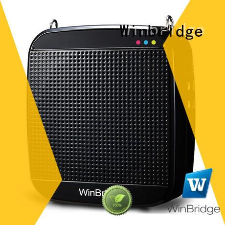 Winbridge best voice amplifier wireless with wireless microphone for teacher