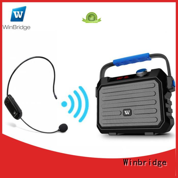 Winbridge wholesale Portable PA Speaker suppliers for speech