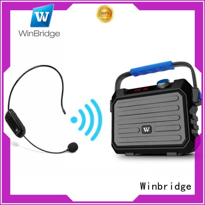 speaker karaoke microphone Bulk Buy outdoor Winbridge