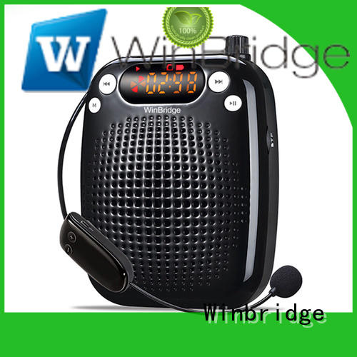 Winbridge bluetooth best voice amplifier customized for teacher