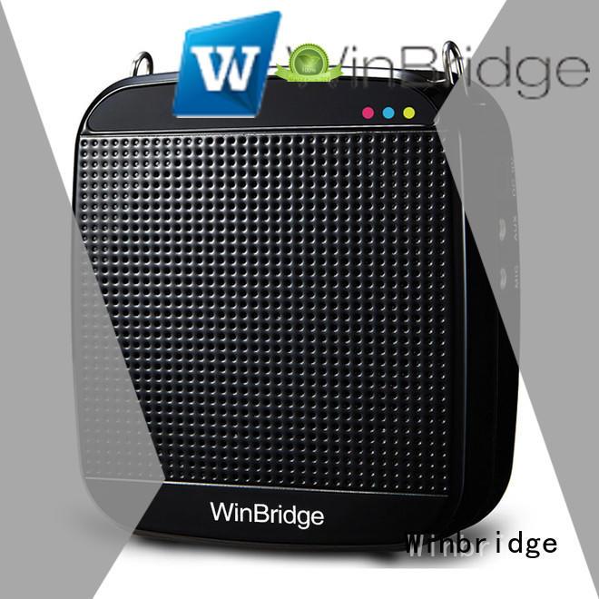 Winbridge mini voice amplifier for teachers customized for teacher
