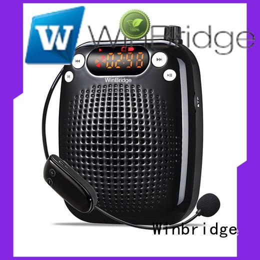 teacher portable microphone voice enhancer headset Winbridge