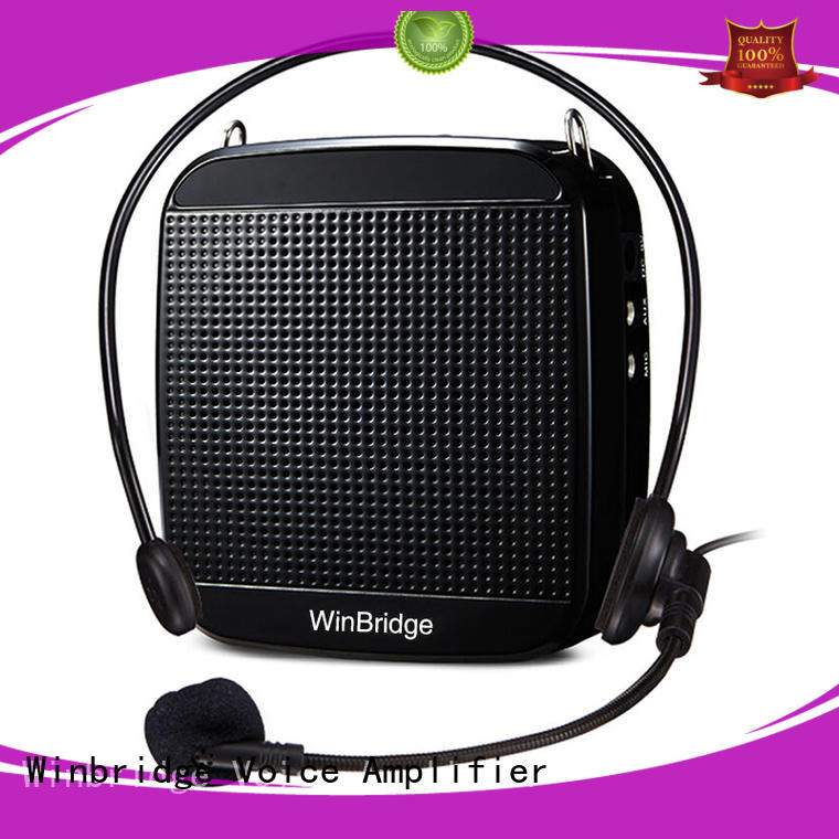 Winbridge wireless voice amplifier for teachers with headset for teacher