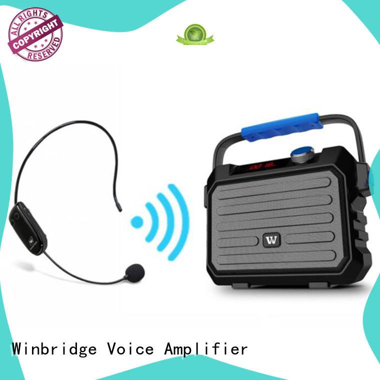speaker portable karaoke speaker winbridge performance Winbridge