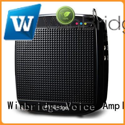Winbridge loudspeaker best portable voice amplifier with wireless microphone for speech