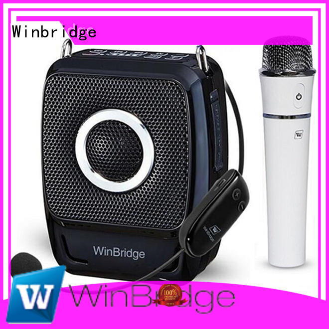 high quality voice amplifier for parkinson's disease with wireless microphone for speech Winbridge
