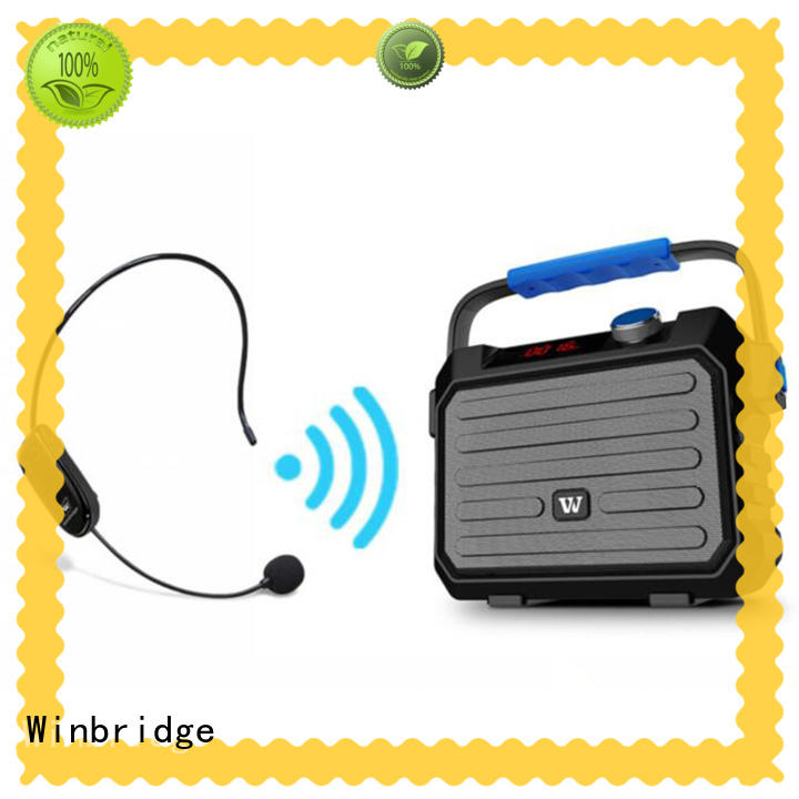 high quality speaker bluetooth karaoke supplier for street performance Winbridge