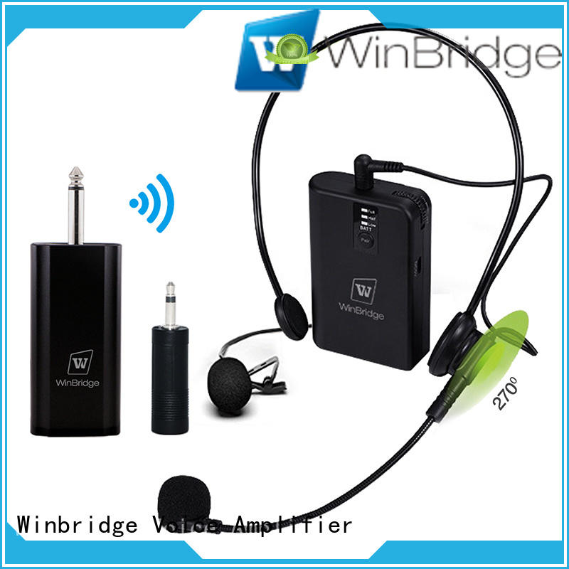 Winbridge wireless microphone supplier for party
