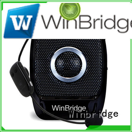 teacher voice amplifier portable microphone speaker microphone waterproof Winbridge Brand voice enhancer