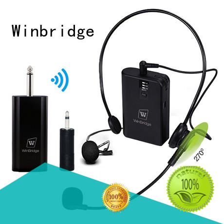 high quality best wireless microphone for singers hot sale for sale Winbridge
