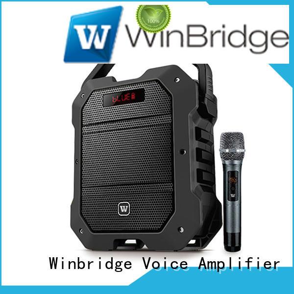remote control Custom winbridge karaoke speaker microphone Winbridge