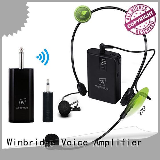 receiver lapel OEM wireless microphone Winbridge