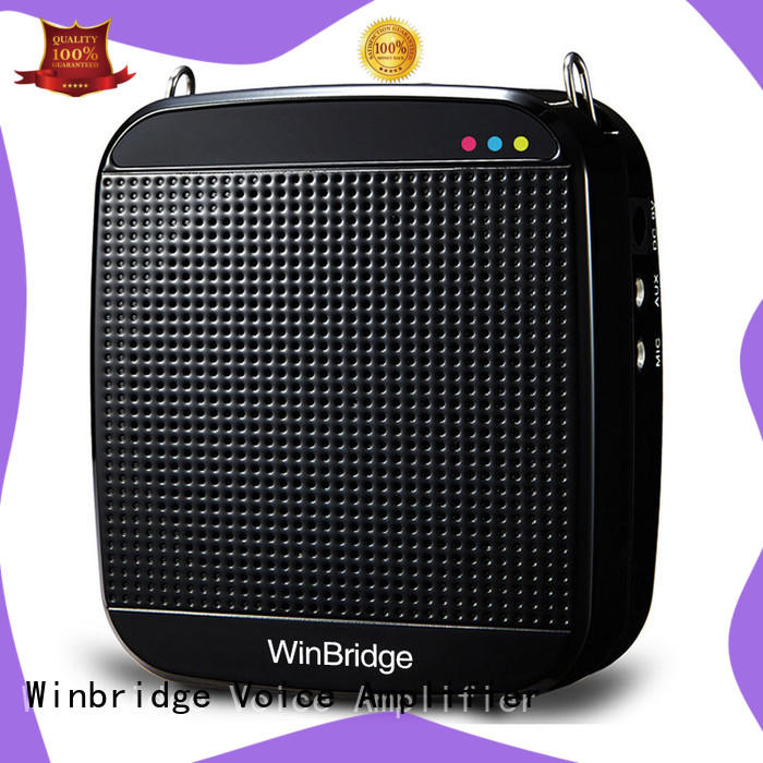 portable microphone voice amplifier with waistband for sale Winbridge