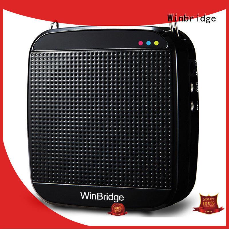 teacher voice amplifier portable microphone speaker winbridge Winbridge Brand voice enhancer