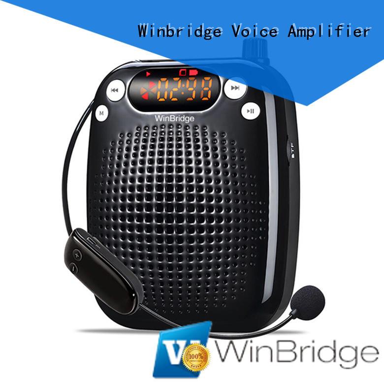 Winbridge Brand headset mini waterproof voice enhancer manufacture