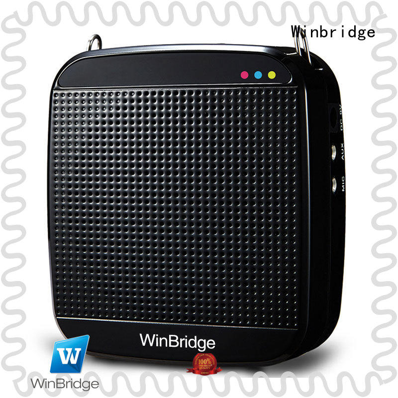 uhf voice amplifier for classroom with wireless microphone for sale
