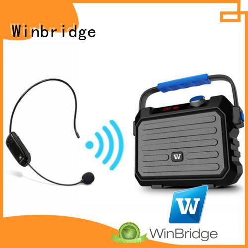 multifunction Custom portable karaoke speaker bluetooth Winbridge