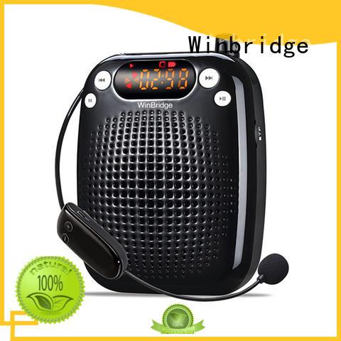 Winbridge loudspeaker voice amplifying device hot sale for teacher