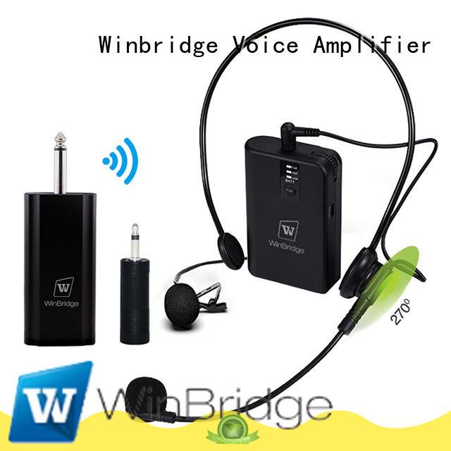 professional wireless microphone winbridge speech Winbridge