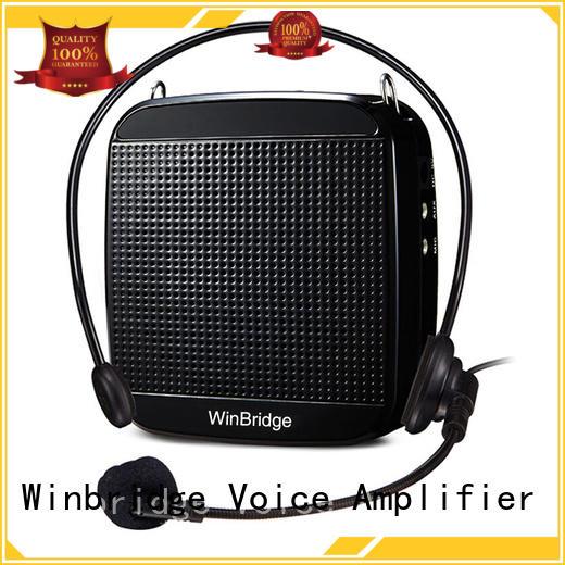 microphone wired headset teacher voice amplifier portable microphone speaker Winbridge Brand