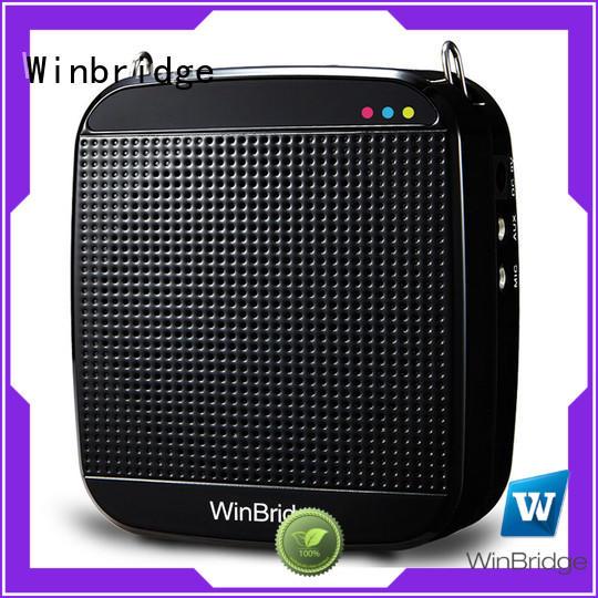 Hot teacher voice amplifier portable microphone speaker waistband Winbridge Brand