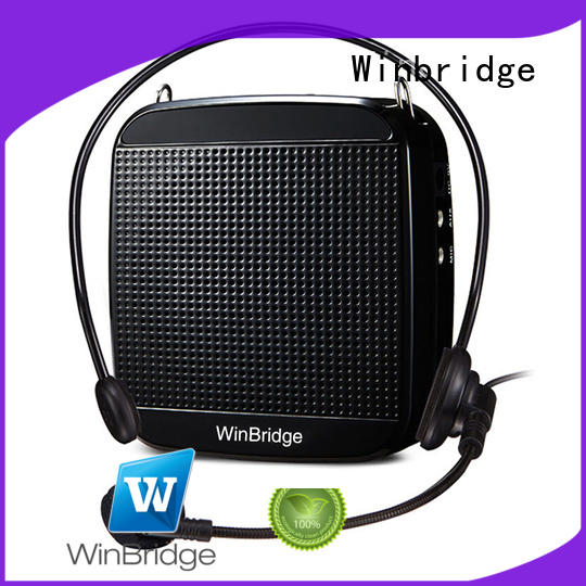 microphone bluetooth waterproof voice enhancer Winbridge Brand company